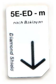 5 Elemente - Erde-Dämpfung Chipcard nach Baklayan