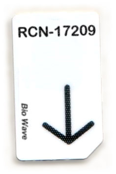 RCN-17209-BW Chipcard für BioWave Zapper
