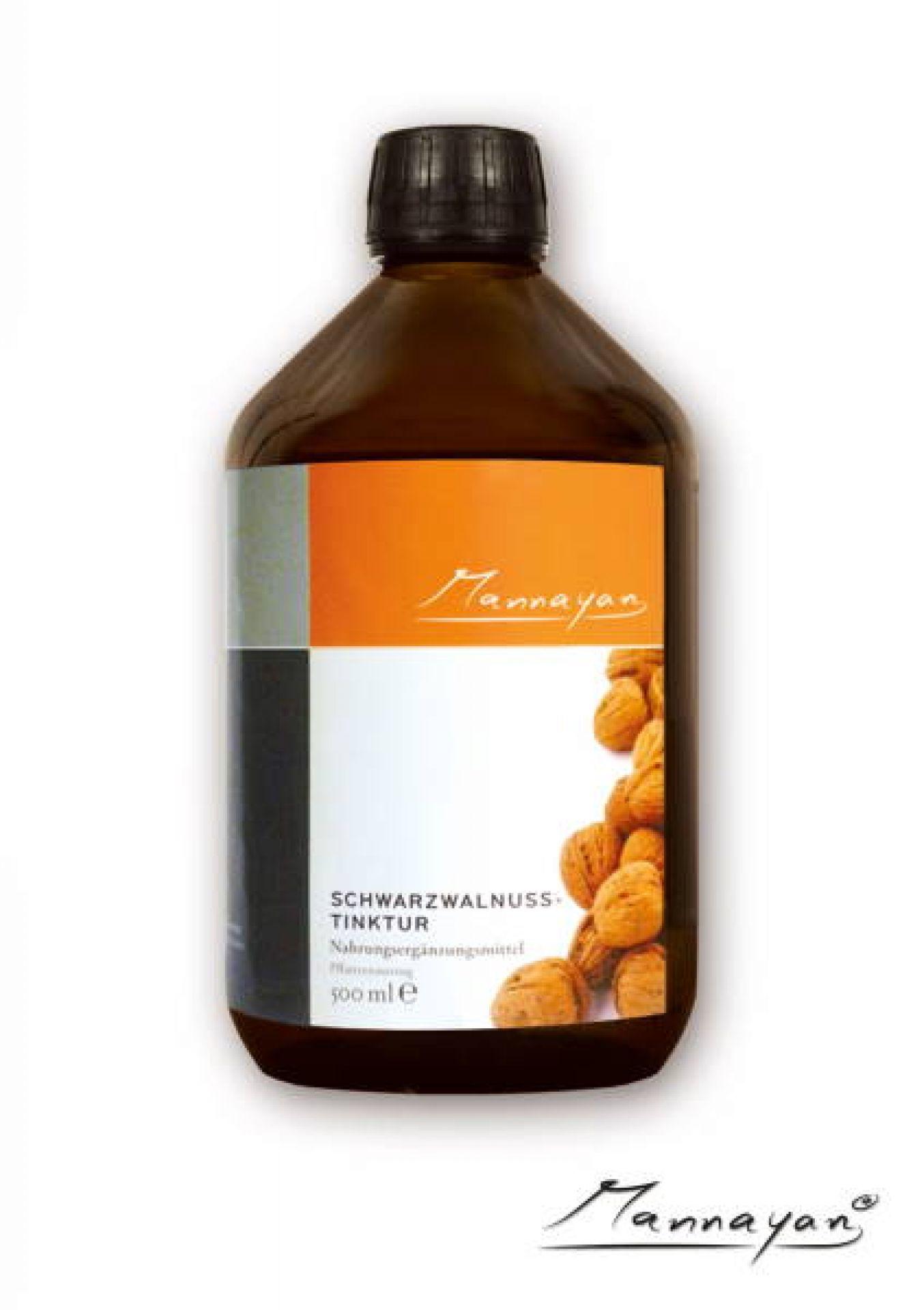 Mannayan Schwarzwalnuss (Tinktur) 500 ml