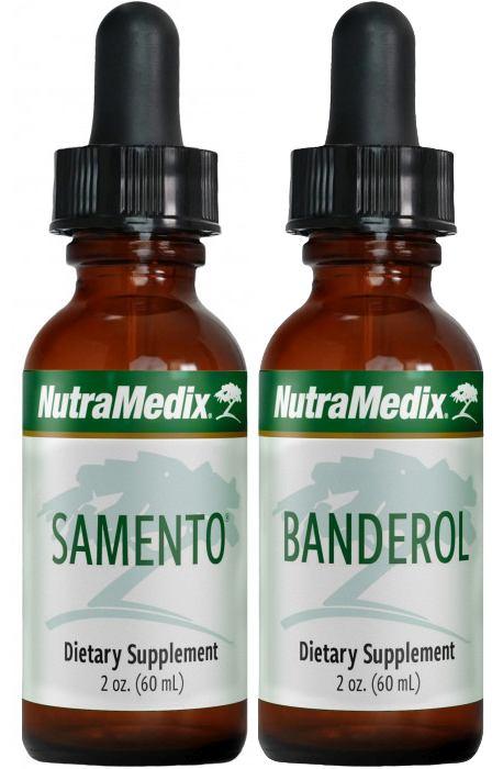 Samento und Banderol groß von NutraMedix