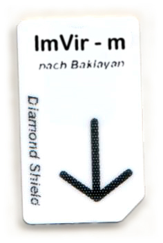 Imvir - m Chipcard nach Baklayan für Diamond Shield Zapper