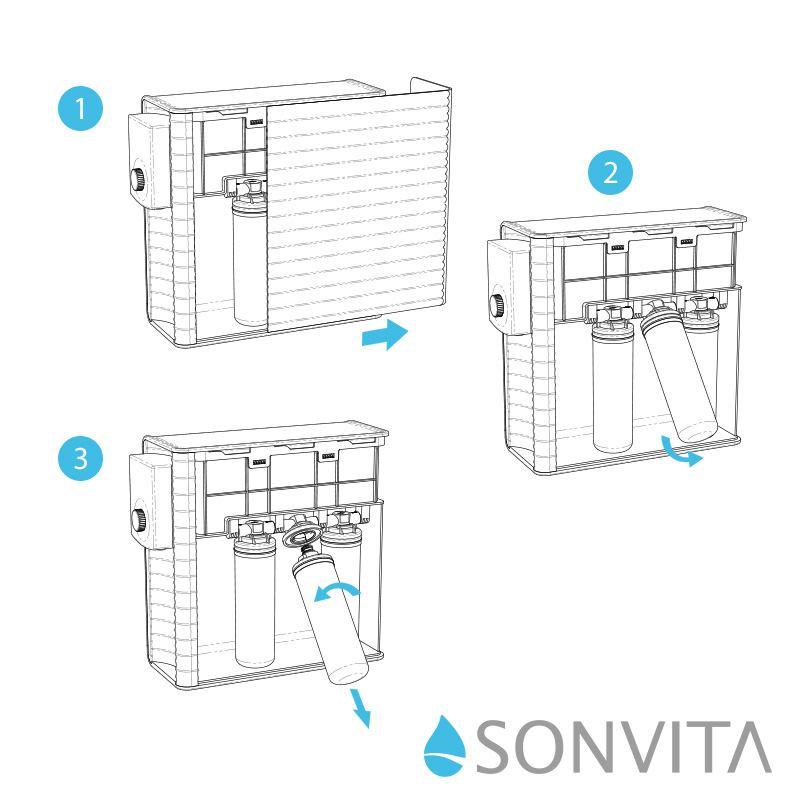 PURA UP (Version: Auftisch-Anlage) Umkehrosmosegerät