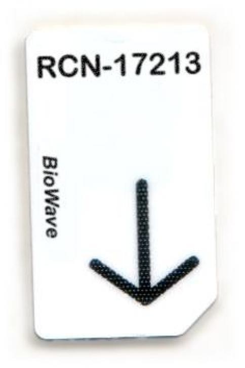 RCN-17213-BW Chipcard für BioWave Zapper