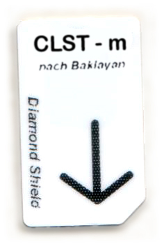 CLST - m Chipcard nach Baklayan für Diamond Shield Zapper