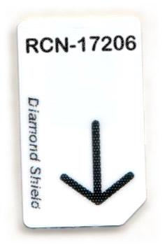 RCN-17206-DS Chipcard für Diamond Shield Zapper