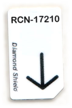 RCN-17210-DS Chipcard für Diamond Shield Zapper