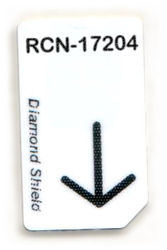 RCN-17204-DS Chipcard für Diamond Shield Zapper